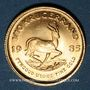 Monnaies Afrique du Sud. République. 1/10 krugerrand 1985. (PTL 917‰. 3,39 g)