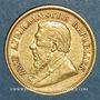 Monnaies Afrique du Sud. République. 1/2 pond 1897. (PTL 917‰. 3,99 g)