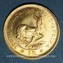 Monnaies Afrique du Sud. République. 1 rand 1980. (PTL 917‰. 3,994 g)