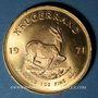 Monnaies Afrique du Sud. République. Krugerrand 1971. (PTL 917‰. 33,93 g)