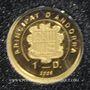 Monnaies Andorre. Principauté. 1 diner 2009 Jean Kepler. (PTL 999‰. 0,5 g)