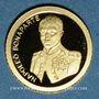 Monnaies Andorre. Principauté. 1 diner 2011. Napoléon Bonaparte. (PTL 999‰. 0,5 g)