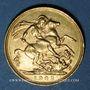Monnaies Australie. Edouard VII (1901-1910). Souverain 1902P. Perth. 917 /1000. 7,99 gr