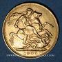 Monnaies Australie. Edouard VII (1901-1910). Souverain 1905M. Melbourne. (PTL 917‰. 7,99 g)