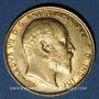 Monnaies Australie. Edouard VII (1901-1910). Souverain 1910M. Melbourne. (PTL 917‰. 7,99 g)