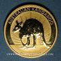 Monnaies Australie. Elisabeth II (1952- ). 100 dollars 2011P. Bullion kangaroo. (PTL 999/1000. 31,10 g)