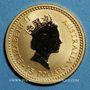 Monnaies Australie. Elisabeth II (1952- ). 15 dollars 1993. Nailtailed wallaby. (PTL 999‰. 3,11 g)
