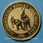 Monnaies Australie. Elisabeth II (1952- ). 25 dollars 1998, deux kangourous. (PTL 999/1000. 7,75 g)
