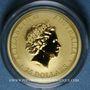 Monnaies Australie. Elisabeth II (1952- ). 25 dollars 2017. Kangourou. (PTL 999‰. 7,78 g (1/4 once))