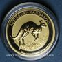 Monnaies Australie. Elisabeth II (1952- ). 25 dollars 2017. Kangourou. (PTL 999/1000. 7,78 g (1/4 once))