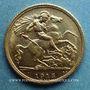 Monnaies Australie. Georges V (1910-1936). 1/2 souverain 1915 S. Sydney. (PTL 917‰. 3,99 g)