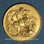 Monnaies Australie. Georges V (1910-1936). Souverain 1913 P. Perth. (PTL 917‰. 7,99 g)