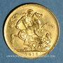 Monnaies Australie. Georges V (1910-1936). Souverain 1915 P. Perth. (PTL 917‰. 7,99 g)