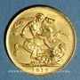Monnaies Australie. Georges V (1910-1936). Souverain 1919P. Perth. (PTL 917/1000. 7,99 g)