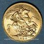 Monnaies Australie. Georges V (1910-1936). Souverain 1920 P. Perth. (PTL 917‰. 7,99 g)