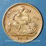 Monnaies Australie. Victoria (1837-1901). 1/2 souverain 1900 S. Sydney. (PTL 917/1000. 3,99 g)
