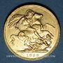 Monnaies Australie. Victoria (1837-1901). Souverain 1886 M. Melbourne. (PTL 917‰. 7,99 g)