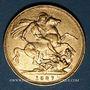 Monnaies Australie. Victoria (1837-1901). Souverain 1887 M. Melbourne. (PTL 917‰. 7,99 g)