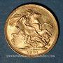 Monnaies Australie. Victoria (1837-1901). Souverain 1891 M. Melbourne. (PTL 917‰. 7,99 g)