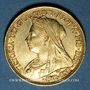 Monnaies Australie. Victoria (1837-1901). Souverain 1896 S. Sydney. (PTL 917‰. 7,99 g)