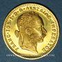 Monnaies Autriche. François Joseph (1848-1916). 1 ducat 1915. Refrappe. 986 /1000. 3,49 gr