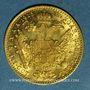 Monnaies Autriche. François Joseph (1848-1916). 1 ducat 1915. Refrappe. (PTL 986‰. 3,49 g)