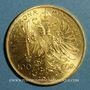 Monnaies Autriche. François Joseph (1848-1916). 100 couronnes 1915. Refrappe. 900 /1000. 33,87 gr