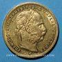 Monnaies Autriche. François Joseph (1848-1916). 8 florins / 20 francs 1892. (PTL 900/1000. 6,45 g)
