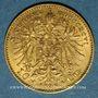 Monnaies Autriche. François Joseph I (1848-1916). 10 couronnes 1896. (PTL 900‰. 3,39 g)