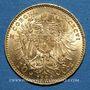 Monnaies Autriche. François Joseph I (1848-1916). 10 couronnes 1896. (PTL 900/1000. 3,39 g)