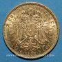 Monnaies Autriche. François Joseph I (1848-1916). 10 couronnes 1905. (PTL 900/1000. 3,39 g)