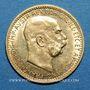 Monnaies Autriche. François Joseph I (1848-1916). 10 couronnes 1911. (PTL 900/1000. 3,39 g)