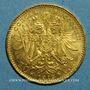 Monnaies Autriche. François Joseph I (1848-1916). 10 couronnes 1912. Refrappe. (PTL 900‰. 3,39 g)