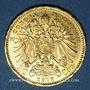 Monnaies Autriche. François Joseph I (1848-1916). 10 couronnes 1912. Refrappe. (PTL 900/1000. 3,39 g)