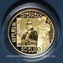 Monnaies Autriche. République. 50 euro 2016 Klimt - Le baiser. (PTL 986‰. 10,14 g)