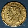 Monnaies Bade. Frédéric I, grand duc (1856-1907). 10 mark 1876 G. (PTL 900/1000. 3,98 g)
