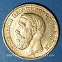 Monnaies Bade. Frédéric I, grand duc (1856-1907). 10 mark 1898 G. (PTL 900‰. 3,98 g)