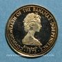 Monnaies Bahamas. 20 dollars 1973. (PTL 585‰. 2,90 g)