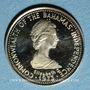 Monnaies Bahamas. Elisabeth II. 10 dollars 1973. (PTL 585‰. 1,45 g)