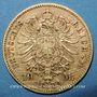 Monnaies Bavière. Louis II (1864-1886). 10 mark 1872D. (PTL 900/1000. 3,98 g)