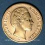 Monnaies Bavière. Louis II (1864-1886). 10 mark 1873D. 900 /1000. 3,98 gr