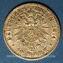 Monnaies Bavière. Louis II (1864-1886). 10 mark 1874 D.  (PTL 900‰. 3,98 g)