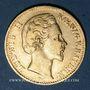 Monnaies Bavière. Louis II (1864-1886). 10 mark 1875 D.  (PTL 900‰. 3,98 g)