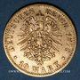 Monnaies Bavière. Louis II (1864-1886). 10 mark 1878D.  (PTL 900‰. 3,98 g)