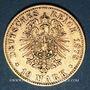 Monnaies Bavière. Louis II (1864-1886). 10 mark 1878D. (PTL 900/1000. 3,98 g)