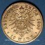 Monnaies Bavière. Louis II (1864-1886). 10 mark 1880D. (PTL 900/1000. 3,98 g)