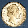 Monnaies Bavière. Louis II (1864-1886). 20  mark 1872D. (PTL 900/1000. 7,96 g)