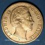 Monnaies Bavière. Louis II (1864-1886). 20  mark 1873 D. (PTL 900‰. 7,96 g)