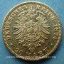 Monnaies Bavière. Louis II (1864-1886). 20  mark 1874D. (PTL 900/1000. 7,96 g)