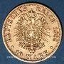 Monnaies Bavière. Otto (1886-1913). 10 mark 1888 D.  (PTL 900‰. 3,98 g)